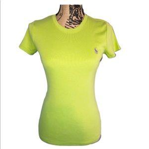 Ralph Lauren Round Neck Women's Short Sleeve Tee
